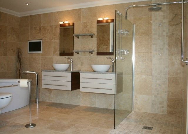 bathroom modern tile. CanadianHomeFlooring.com » What To Choose For Bathroom Finishes Modern Tile