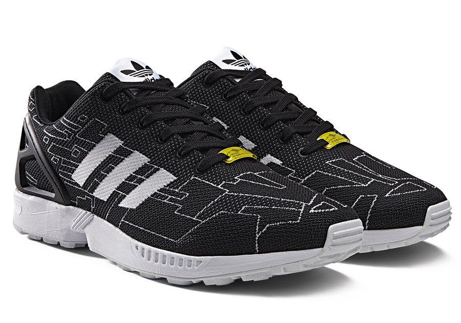 Adidas Originals Zx Flux Weave Pattern Pack Sneakernews Com Adidas Originals Zx Flux Sneakers Adidas Originals