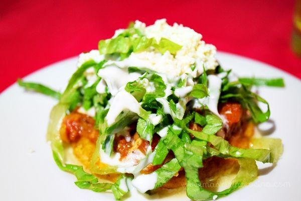 Sope de tinga  Cocina Mexicana  Cocina mexicana