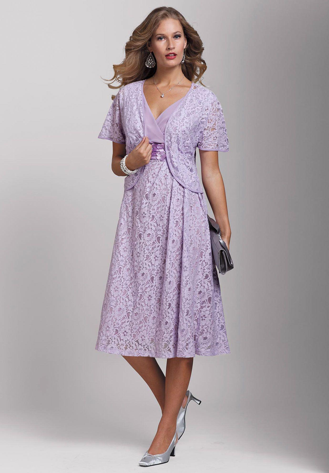 Plus Size Lace Bolero Jacket Dress Plus Size Special Occasion