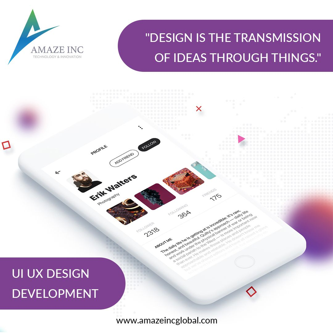 """""""Design is the transmission of ideas through things"""
