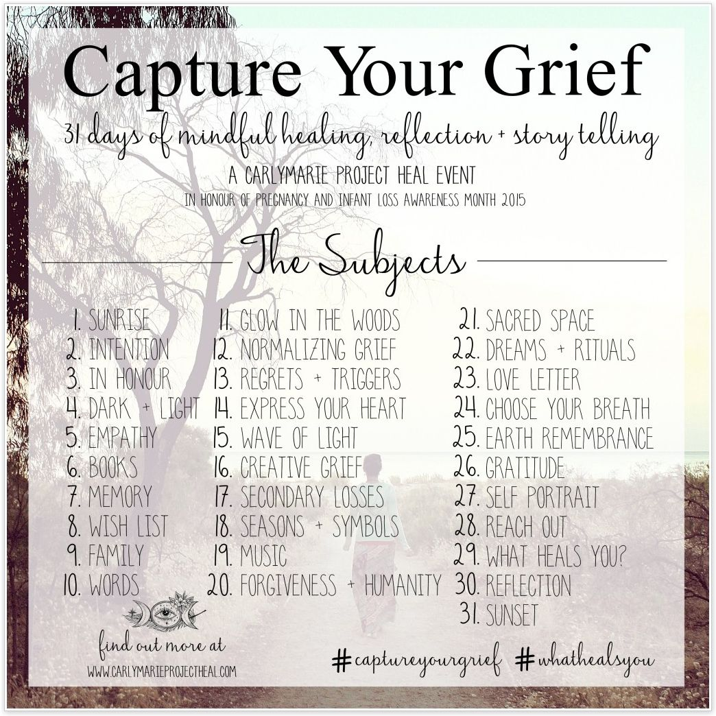 Capture Your Grief