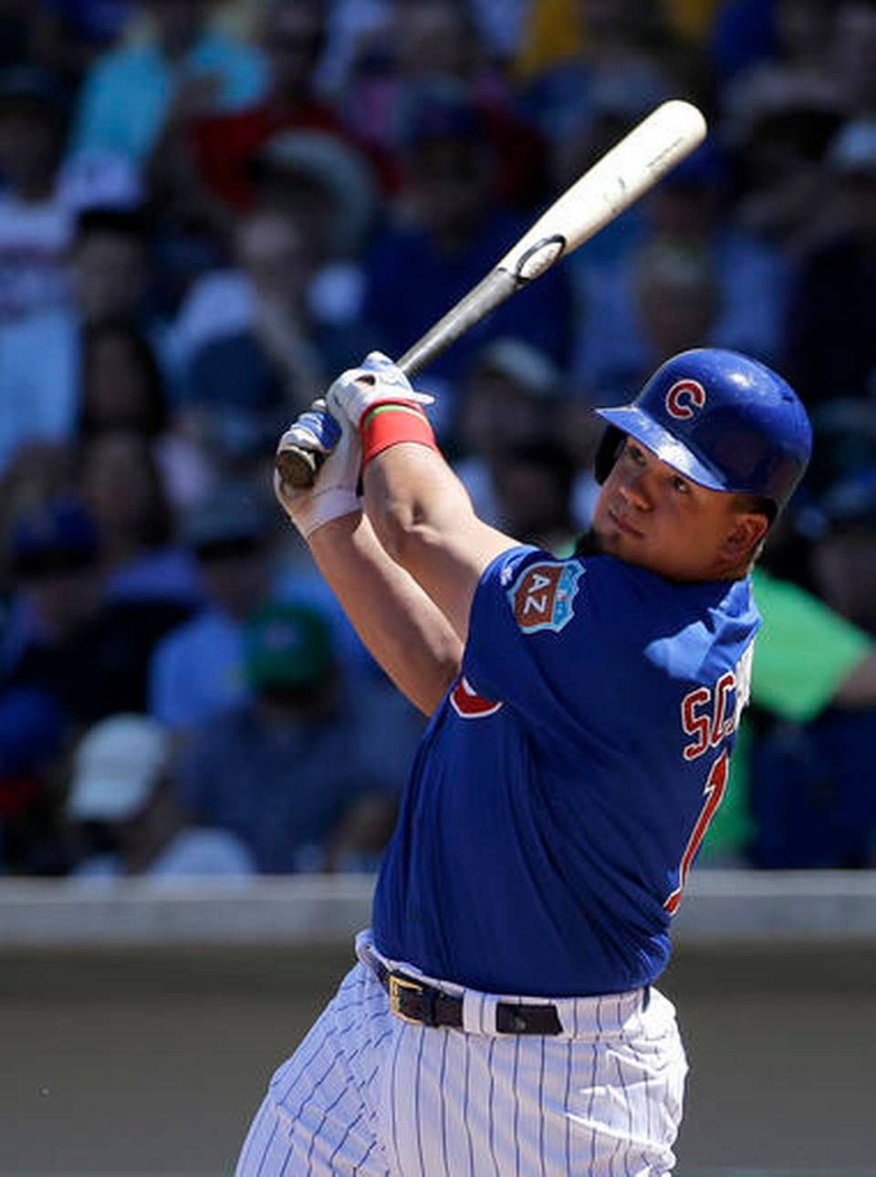 File In This March 25 2016 File Photo Chicago Cubs Kyle Schwarber Bats Against The Milwaukee Bre Cubs World Series Chicago Cubs World Series World Series