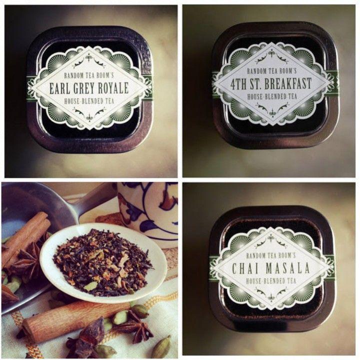 Loose Leaf Black Tea Tin Sampler from The Random Tea Room & Curiosity Shop for $27.00