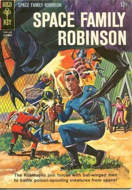 Space Family Robinson #8 - Peril on Planet Four (Issue)