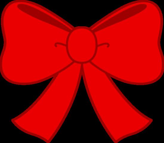 Cute Red Ribbon Bow Clipart Bow Vector Clip Art Borders