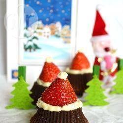 weihnachtsmann m tzen aus schokolade und mascarpone santa. Black Bedroom Furniture Sets. Home Design Ideas