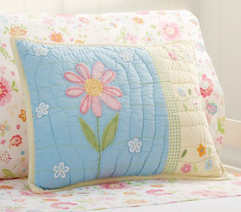 Daisy Garden Toddler Quilt With Images Quilt Bedding