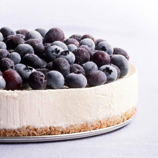 Frozen Blueberry Cheesecake