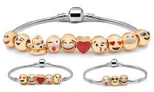 0538da56184535 Groupon - Bracelet Bracelet Émoticônes en métal doré, quantité d Emoji au  choix dès 6.90€ (jusqu à 88% de réduction). Prix Groupon   6,90 €