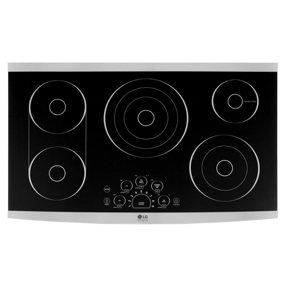 Lg Studio 36 In Radiant Electric Cooktop In Stainless Steel With