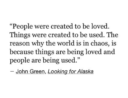 One of my all time favorite quotes | John green zitate ...