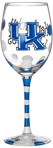 NCAA Kentucky Wildcats Drinkware Wine Glass, One Size/12 oz, Multicolor Game Day Outfitters http://smile.amazon.com/dp/B00T3NZBPY/ref=cm_sw_r_pi_dp_B9HWwb068YFK9