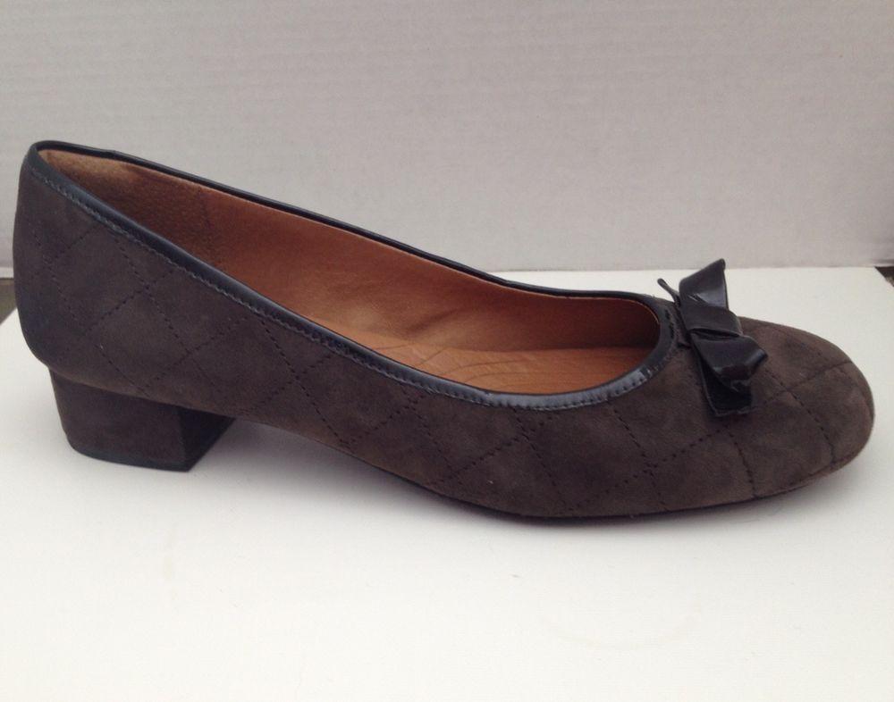 549d319ca5db Clarks Indigo Shoes Womens Size 11 M Brown Suede Heels 11M Pumps ...