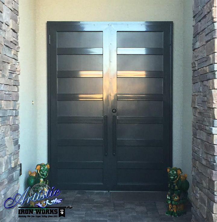 La Brea Double Door Wrought Iron Security Fd0158 Wrought Iron Security Doors Diy Home Security Iron Security Doors