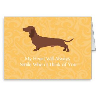 Greeting Card FRIENDSHIP Dachshund Dogs Groucho Glasses New W// TRACKING
