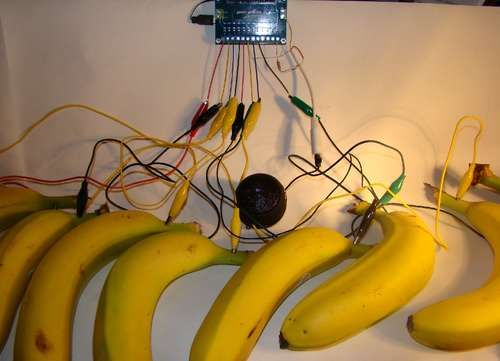 Bananaphone  A Touch Capacitance Synth