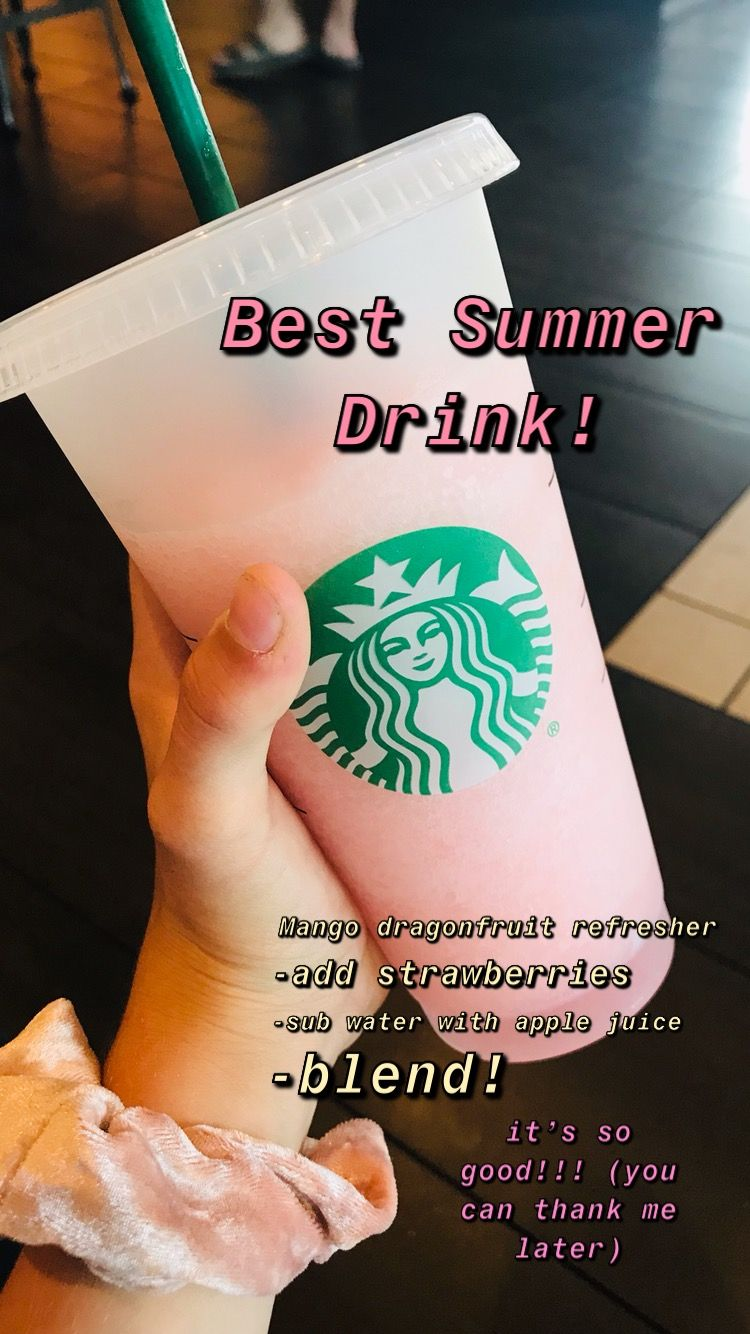 It's super good! #healthystarbucksdrinks