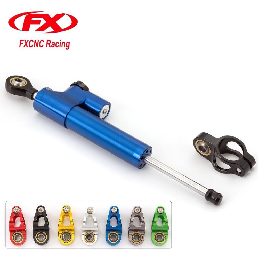 Fxcnc Universal Aluminum Cnc Motorcycle Steering Dampers Stabilizer