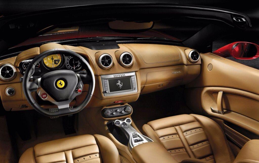 Ferrari 485 2011 Interior Ferrari California Ferrari Car Ferrari