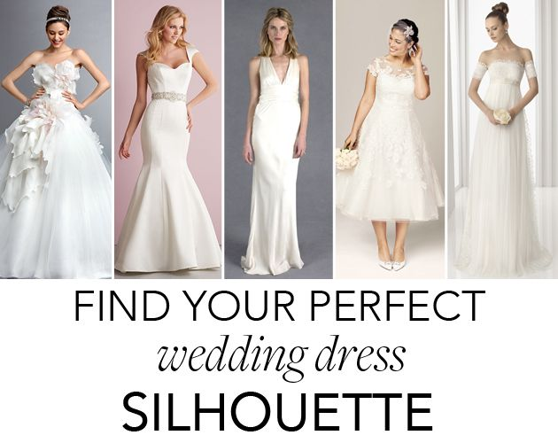 Quiz Alert Which Wedding Dress Silhouette Is Right For You