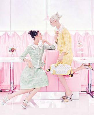 Louis Vuitton S/S 2012 - Confection Perfection!
