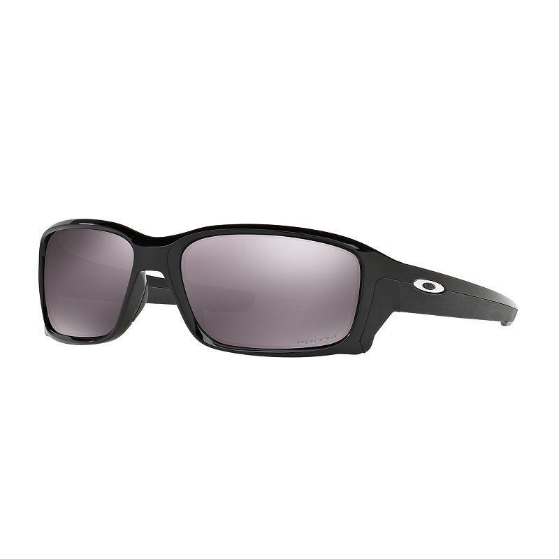 44bbb43d7a Oakley OO9331 58mm Wrap Straightlink Black Iridium Prizm Daily Polarized  Sunglasses