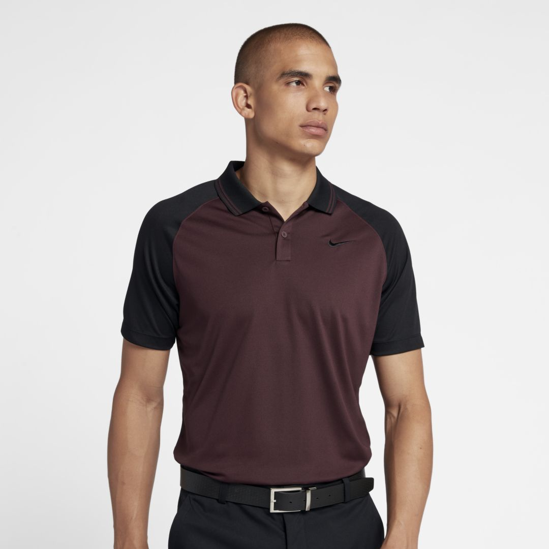 edd4ca4d Nike Dri-FIT Essential Men's Golf Polo Size 2XL (Burgundy Crush ...