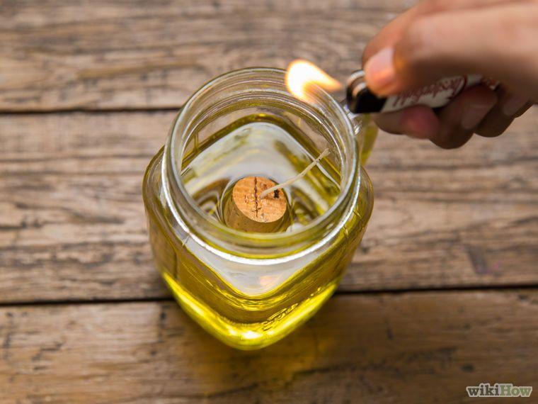 4 Formas De Hacer Una Lámpara De Aceite Lampara De Aceite Velas De Aceite Como Hacer Una Lampara