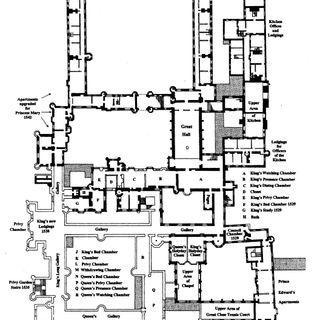 Hampton Court Plan C1547 Jpg Hampton Court Hampton Court Palace The Hamptons