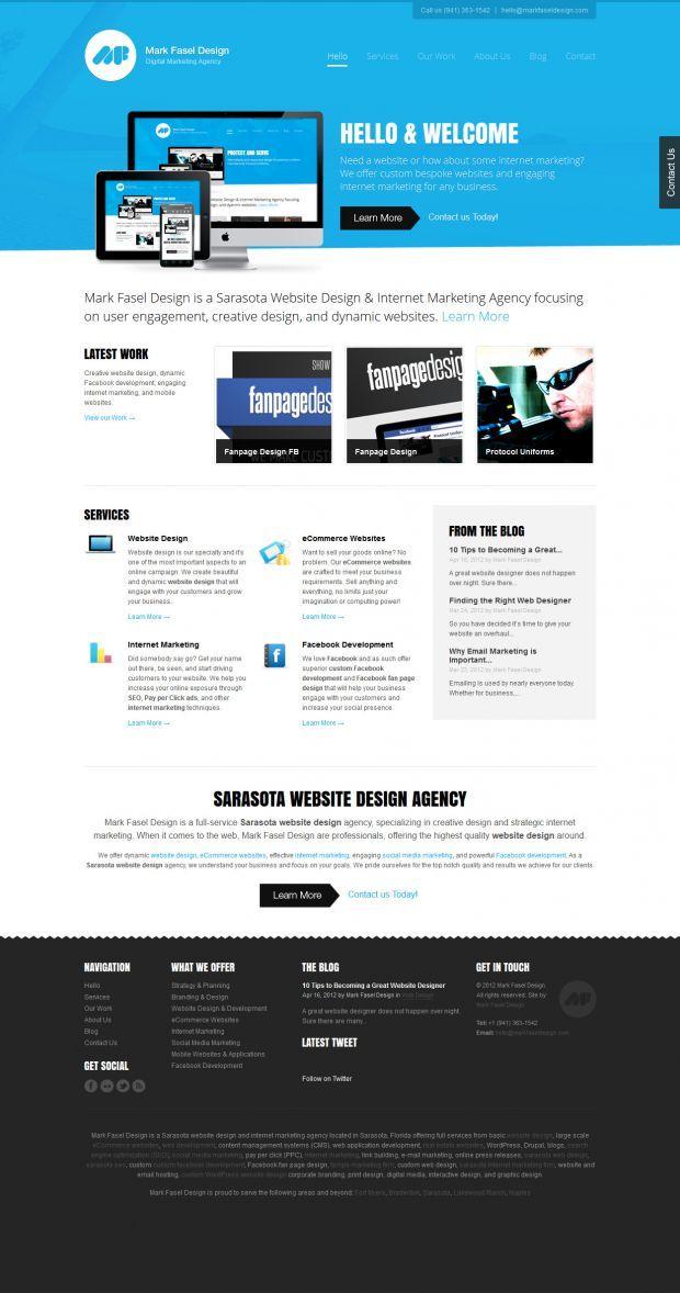 Mark Fasel Design Website Design And Marketing Agency Best Website Web Design Inspiration Sho Website Design Web Design Inspiration Marketing Agency