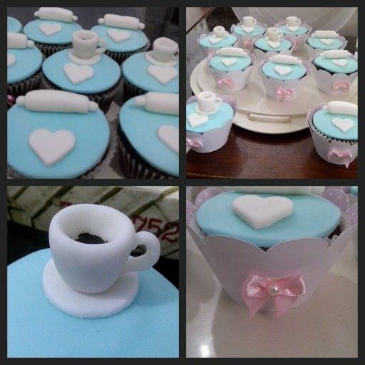 Cupcakes para Chá de panela