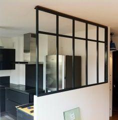 236 240 appart - Separation vitree entre deux pieces ...