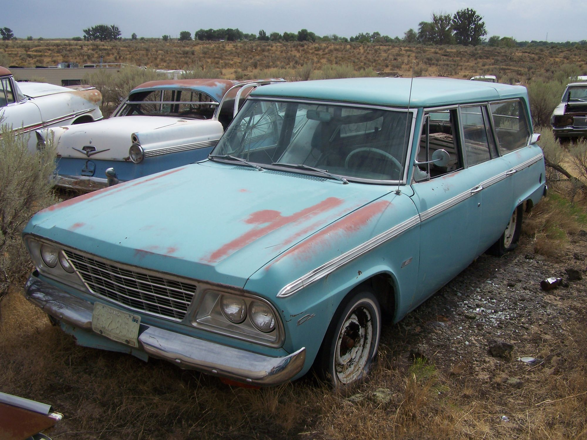 Junkyard tours – 8,000 cars revisited | Hemmings Daily | Barn Finds ...