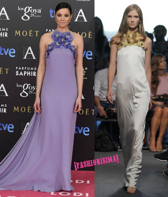 Un look de 10 para Dafne Fernandez de The 2nd Skin Co en la alfombra ...