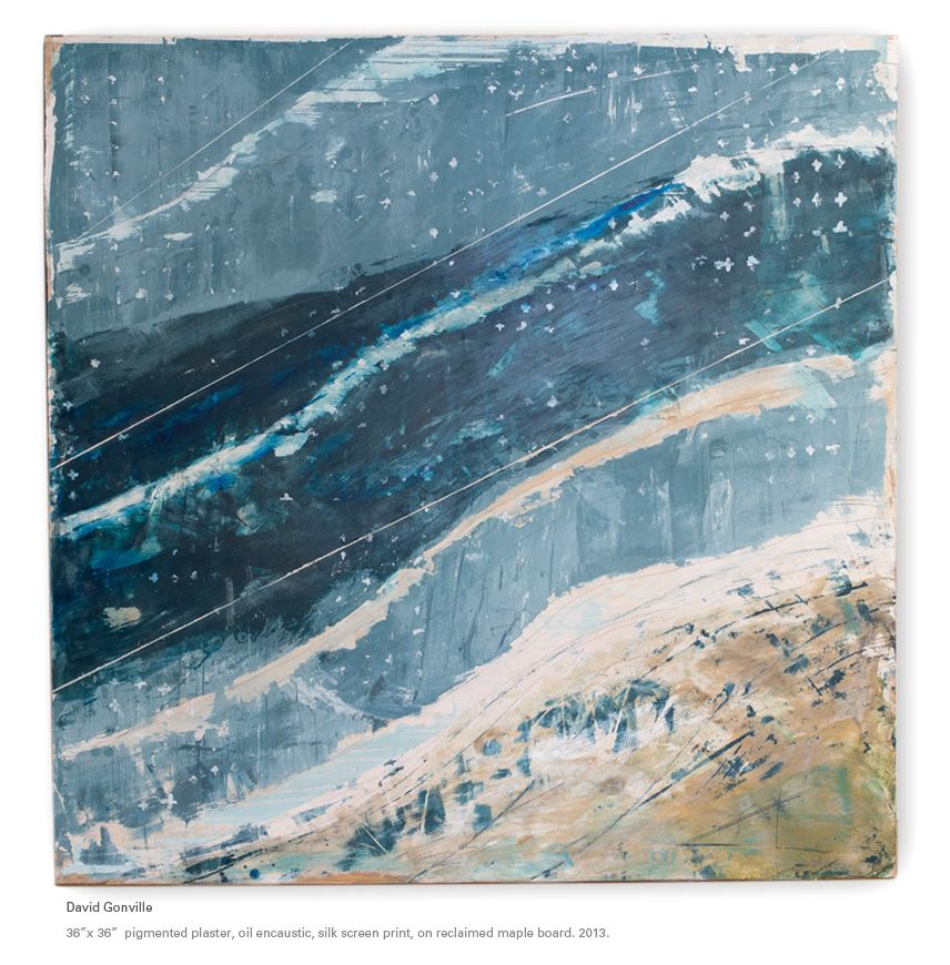 David Gonville - contemporary paintings in encaustic mixed ...