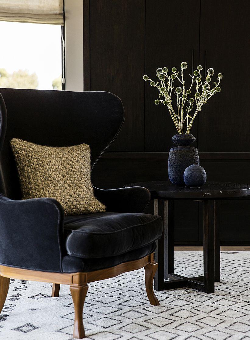 The Bold Look Of Kohler Velvet Wing Chair Velvet Wingback Chair