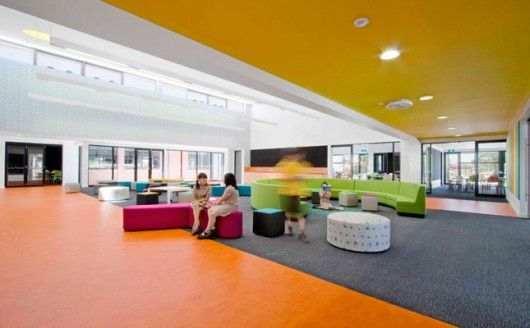 Modern Schools With Colorfull Designs | Interior Design, Home