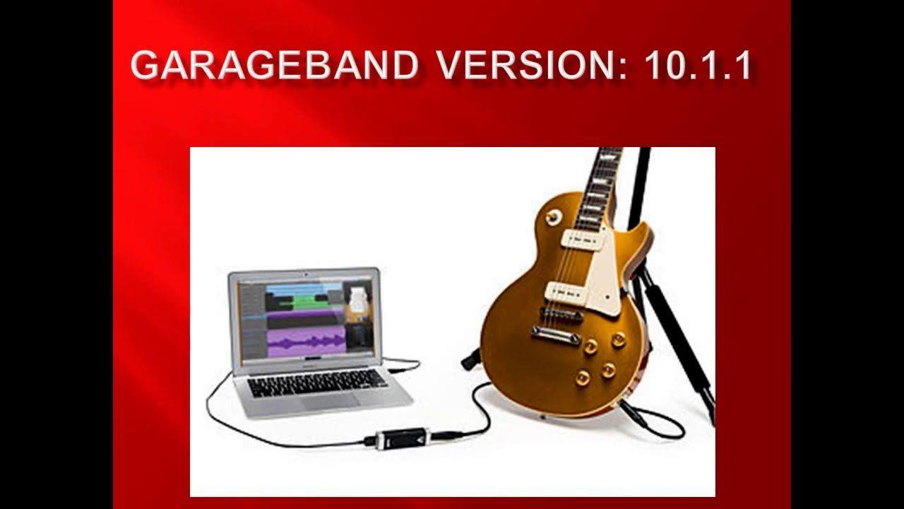 Garageband version 1011 new features and customer