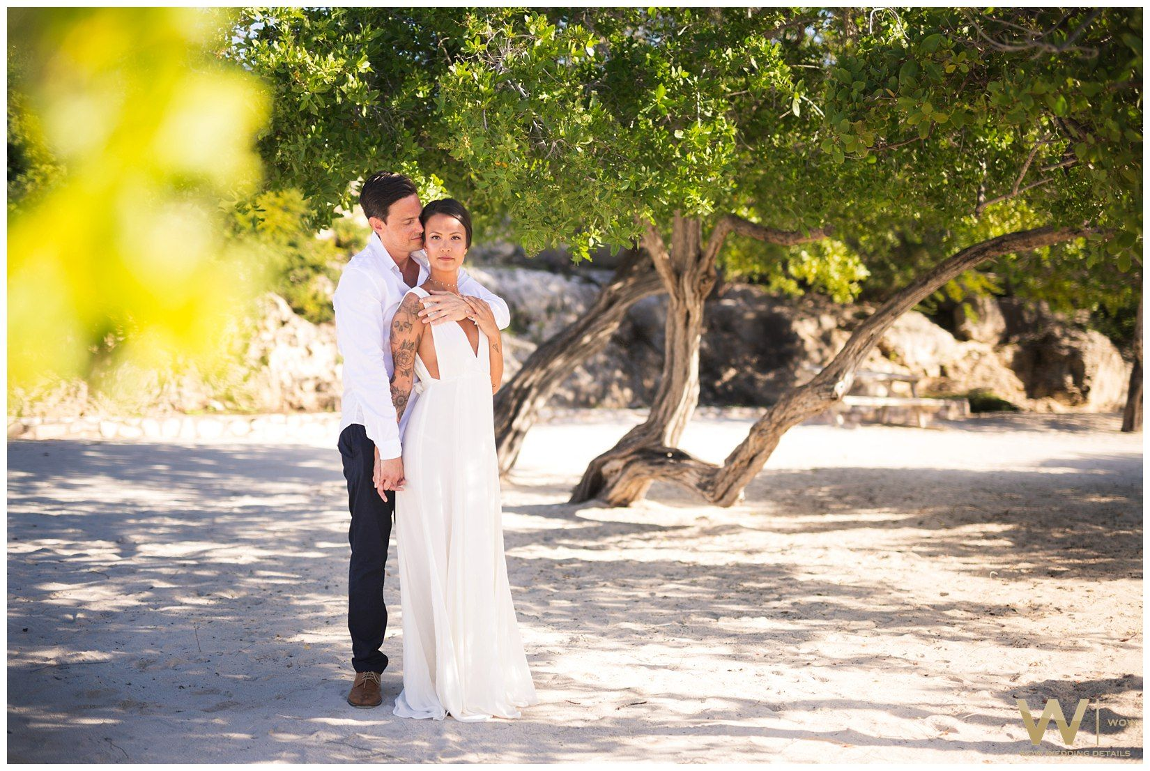 Lauren Travis Canada Curacao Destination Wedding Elopement Tropical Beach Santa Barbara Golf Resort Photography By Wow