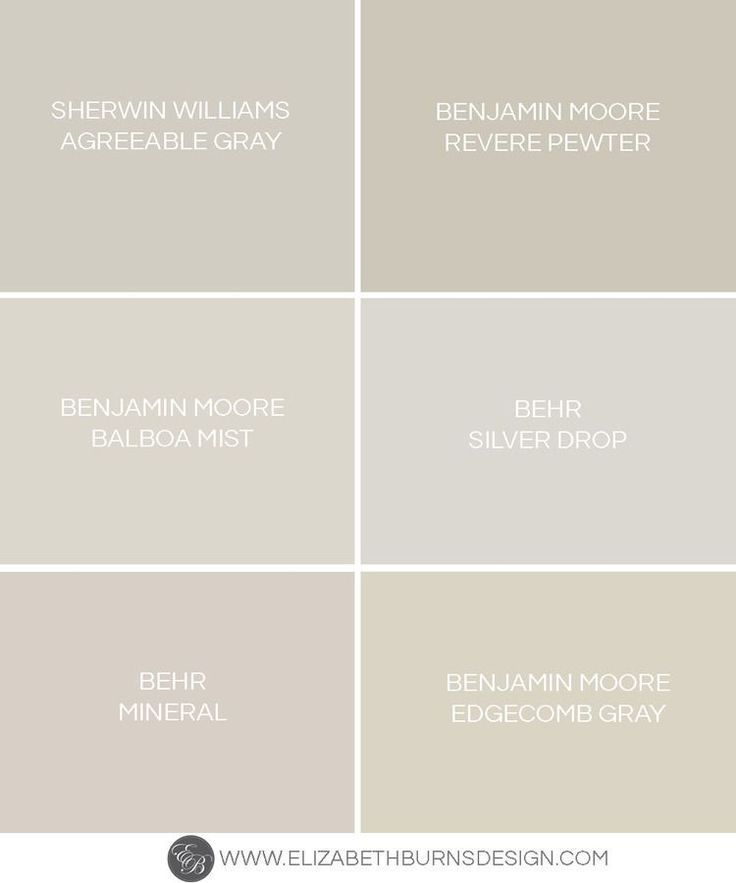 Elizabeth Burns Design Greige Paint Colors The Perfect Warm