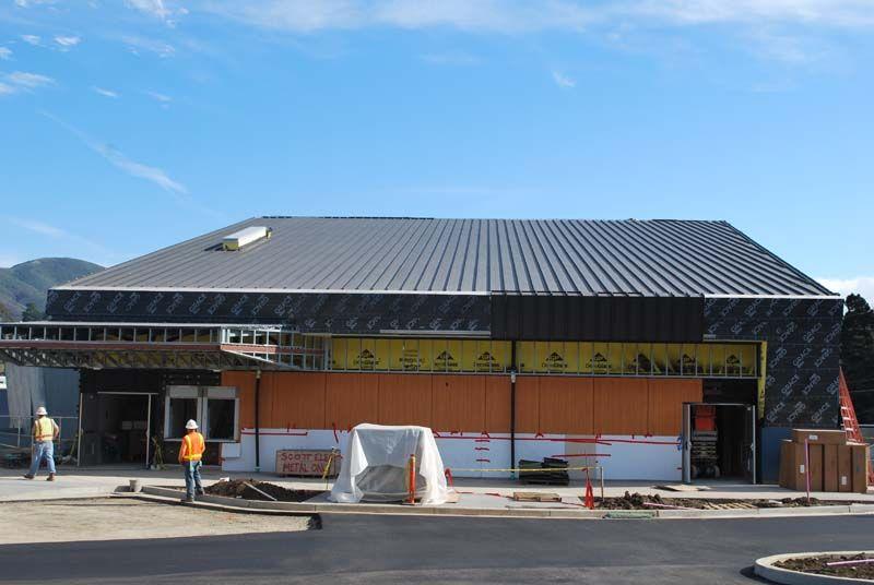 Imetco United Zinc Onyx Black Terra Nova High School Pacifica California Jmulligan Garlandind Com Zinc Cladding Architecture Cladding