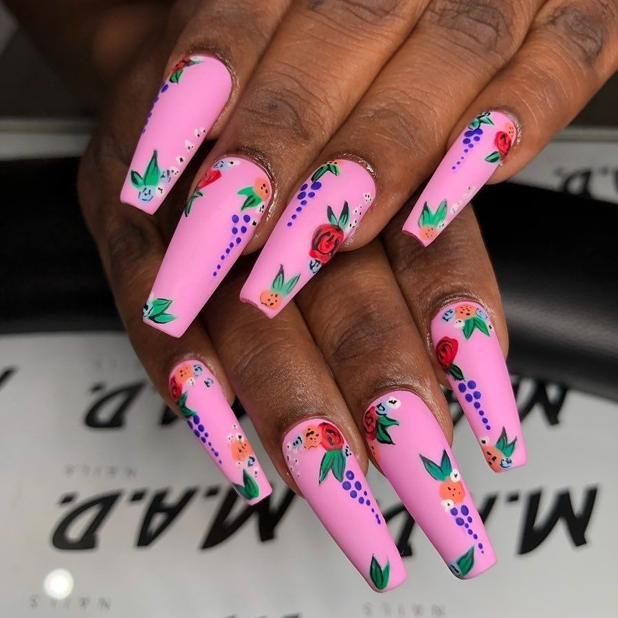 Nailpro Magazine On Instagram Madnails Hand Painted The Gelbottle Inc Colors Over Apresnailofficial Gel Fabulous Nails Nail Designs Beautiful Nail Designs