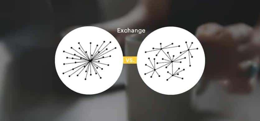 ️ Comparison of Centralized vs. Decentralized Crypto