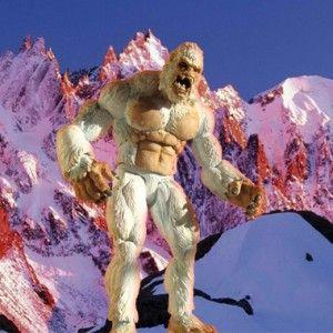 Yeti - Creatureplica action figure