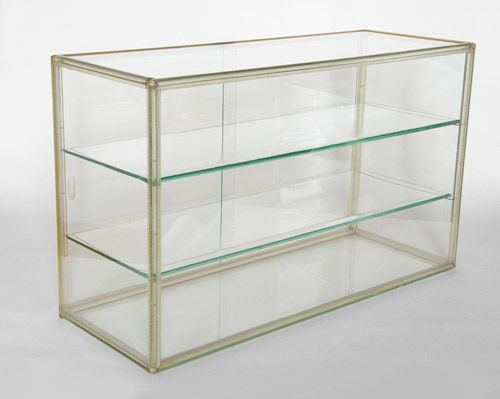 Lucite Frame And Glass Table Top Display Case Table Top Display Case Jewelry Display Case Table Top Display