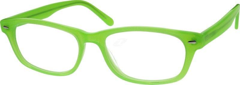 02912827ae Hmmmmm...neon green glasses! ! 636024 Acetate Full-Rim Frame