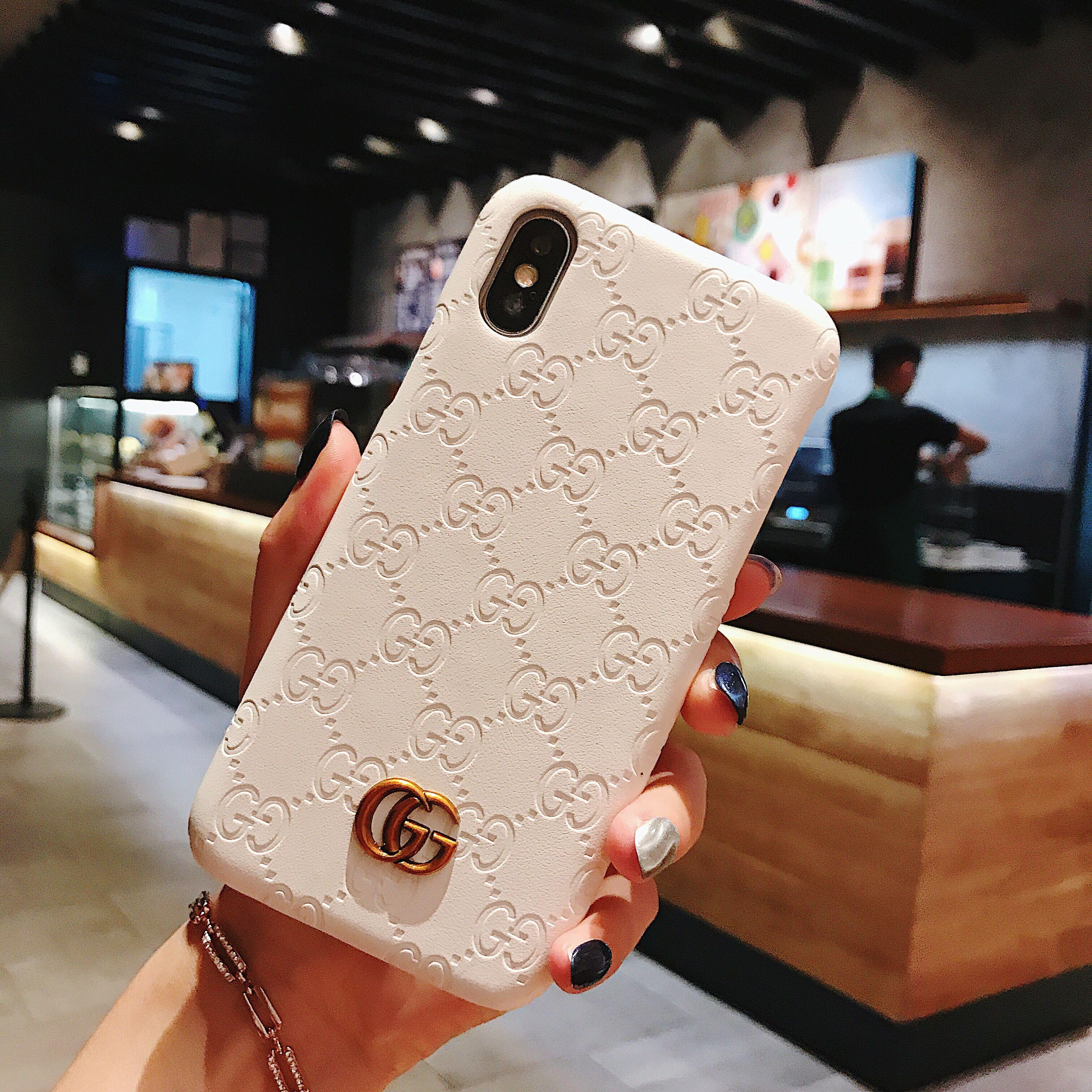 Gucci iphone 8 plus case best gg supreme retro iphone xs