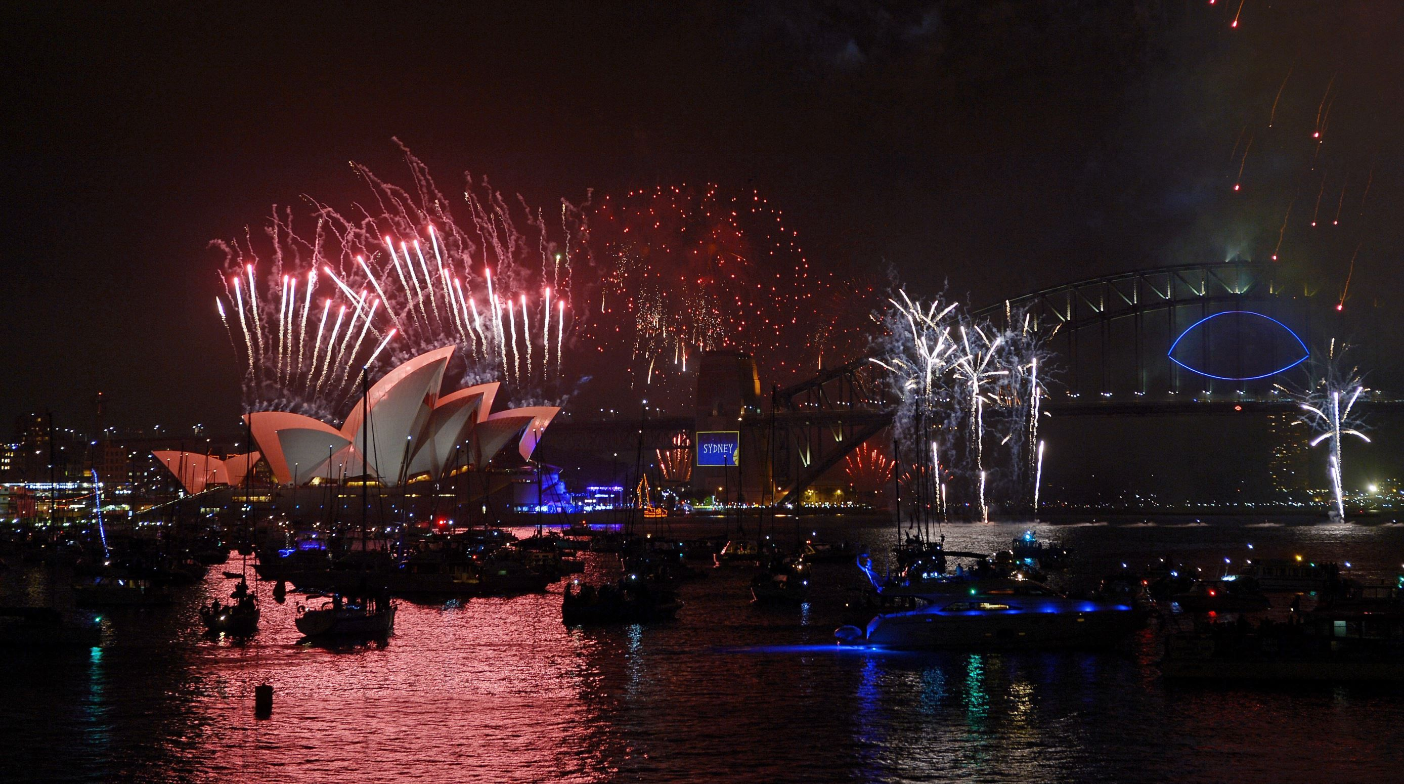 Best New Year's Eve fireworks displays around the globe