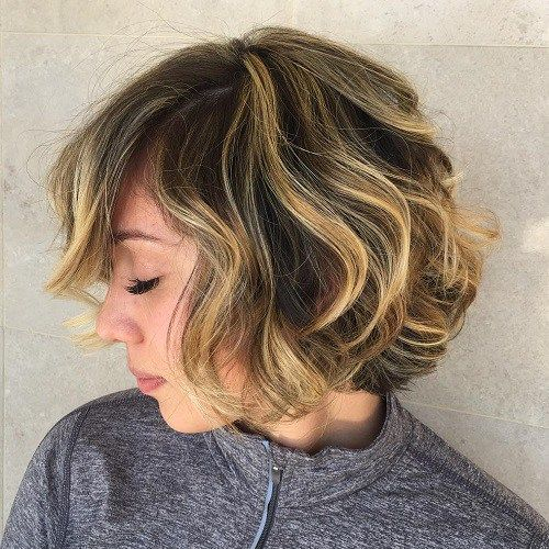 65 Different Versions Of Curly Bob Hairstyle Curly Bob Hairstyles Short Hair Highlights Short Hair Styles